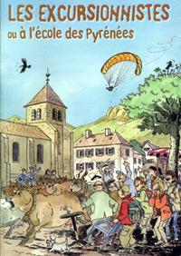 Couverture de la BD Les Excursionnistes ou À l'école des Pyrénées