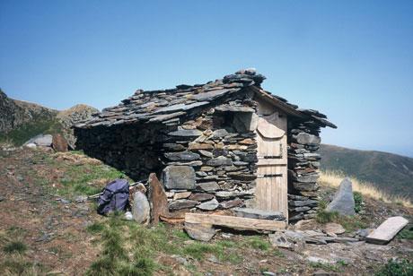 Une cabane d'estives dans les Pyrénées