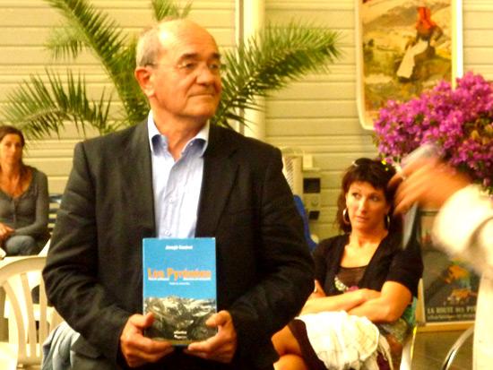 Joseph Canérot récompensé par le Prix du Livre Pyrénéen