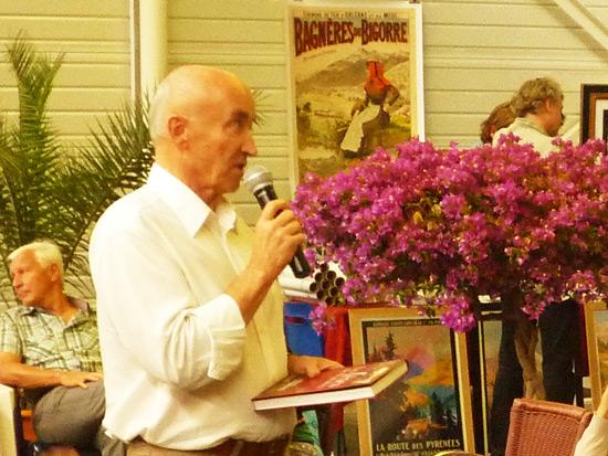 Olivier de Marliave reçoit le Prix du Guide Pyrénéen