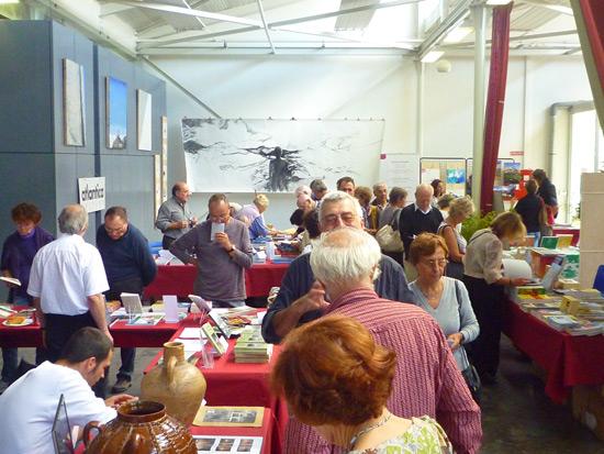 Le public est venu nombreux ce samedi : plus de 300 visiteurs à la mi-journée