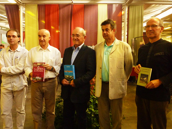 De gauche à droite : Sylvio Brianti, Olivier de Marliave, Joseph Canérot, Stéphane Lévêque, Severino Pallaruelo