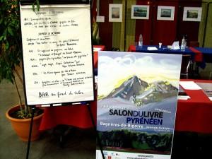 Accueil du Salon du Livre Pyrénéen le vendredi 7 octobre 2011