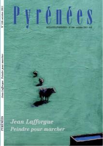 Couverture du numéro 248 (octobre) de la revue Pyrénées