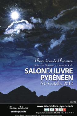 Affiche du Salon du Livre Pyrénéen 2012