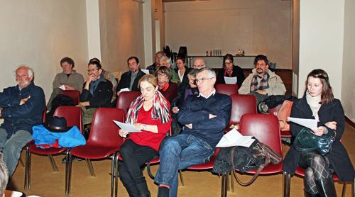 AG association Binaros : la salle