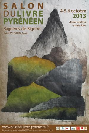 Affiche du Salon du Livre Pyrénéen 2013
