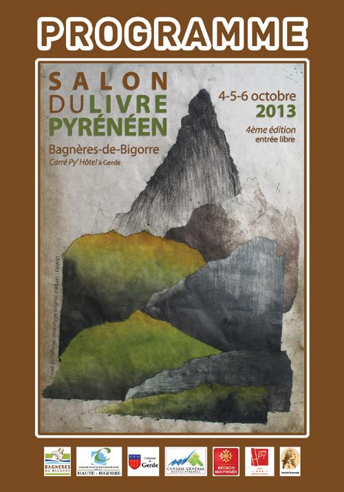 Couverture de la brochure du Salon du Livre Pyrénéen 2013