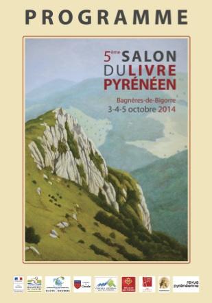 Couverture du programme 2014 du Salon du Livre Pyrénéeen